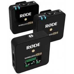 RODE WIRELESS GO II kit microfoni wireless