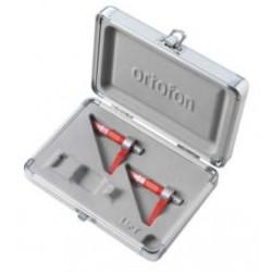 ORTOFON CONCORDE DIGITAL MK2 TWIN coppia di shell con testina e puntina con case protettivo