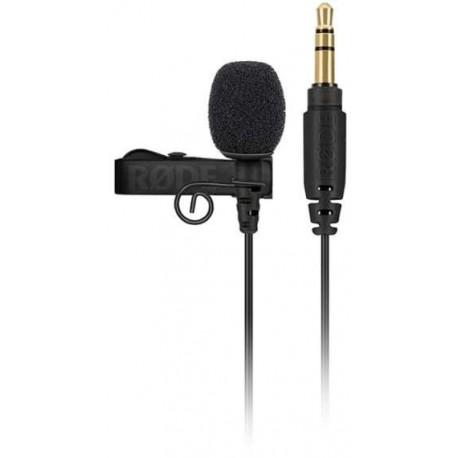 RODE LAVALIER GO BLACK microfono condensatore