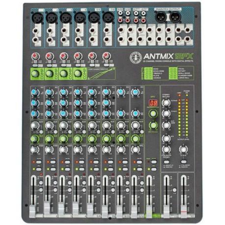 ANT ANTMIX 12FX mixer 12 canali con effetti