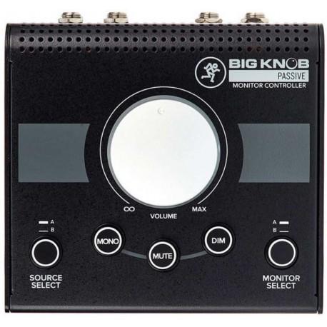 MACKIE BIG KNOB PASSIVE controller passivo per studio monitor 2x2