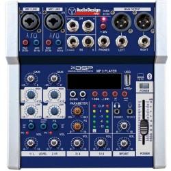 AUDIO DESIGN PAMX.231SC Mixer 6 in con scheda audio