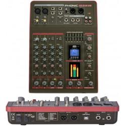 PHONIC Celeus 200 mixer USB 4 canali Bluetooth con processore effetti