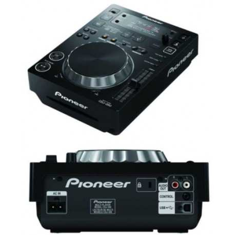 PIONEER CDJ-350 k blackplayer multimediale con supporto rekordbox