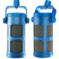SONTRONICS Podcast Pro Blue microfono dinamico per podcast blue