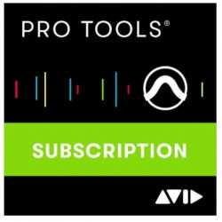 AVID Pro Tools 1-Year Subscription versione download