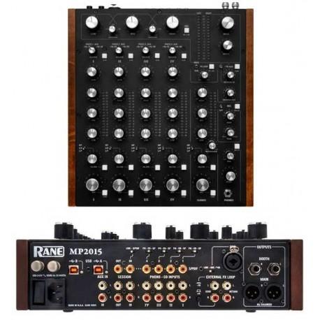 RANE MP2015 mixer a 4 canali con fader rotativi per dj con due porte usb