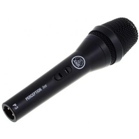 AKG PERCEPTION LIVE P3S microfono dinamico cardioide