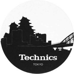 TECHNICS SKYLINE TOKYO coppia slipmat per DJ