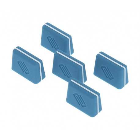 RELOOP FADER CAP set blue kit 5 cappucci per fader blu