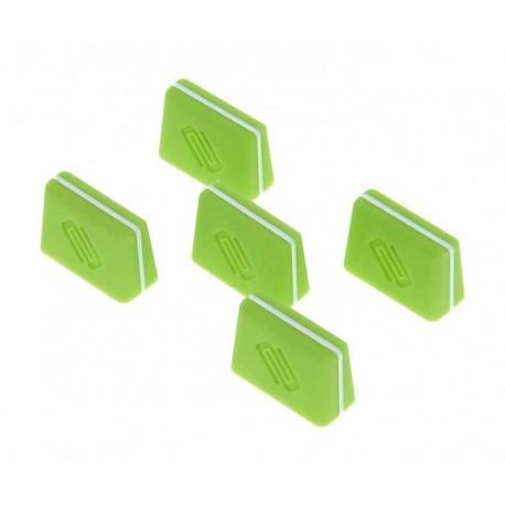 RELOOP FADER CAP set green kit 5 cappucci per fader verdi