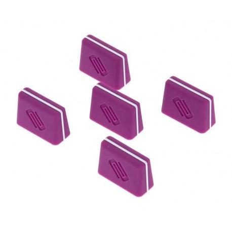 RELOOP FADER CAP set purple kit 5 cappucci per fader viola