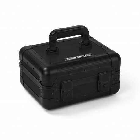 RELOOP HEADPHONE CASE black case in alluminio per cuffie