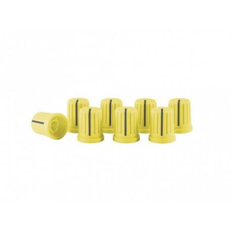 RELOOP KNOB SET yellow kit 5 cappucci per knob gialli