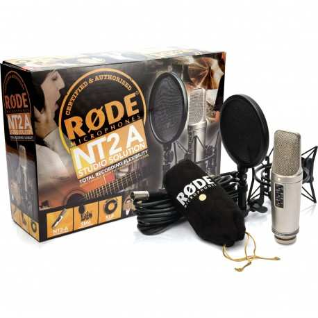 RODE NT2a - Studio Solution microfono a condensatore multipattern