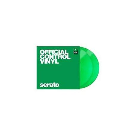 """SERATO Green 12"""" (coppia) coppia vinili di controllo verdi"""