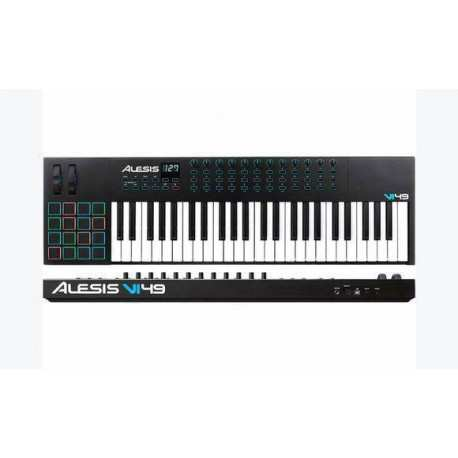 ALESIS VI49 USB midi controller 49 tasti semi-pesati
