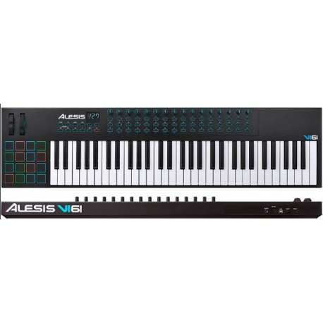 ALESIS VI61 USB midi controller 61 tasti semi-pesati