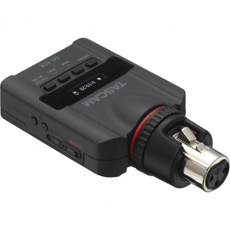 TASCAM DR10X registratore audio lineare pcm con connettore xlr