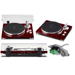 TEAC TN-300 CHERRY giradischi hi-fi con convertitore USB