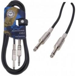 TOPP PRO cavo sbilanciato per strumenti jack 6,3 mm jack 6,3 mm tp gc01lu05