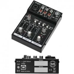 TOPP PRO MX.3BT mixer 3 canali usb- bluetooth