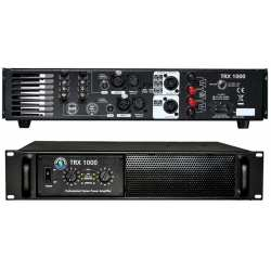 "TOPP PRO TRX1000 amplificatore a due canali 2 unità rack 19"""