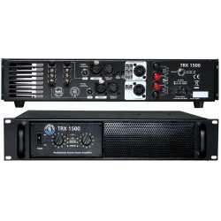 "TOPP PRO TRX1500 amplificatore a due canali 2 unità rack 19"""