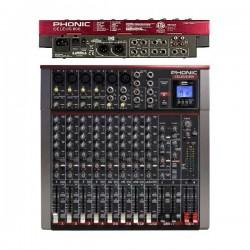 PHONIC Celeus 600 mixer usb 12 canali con processore effetti
