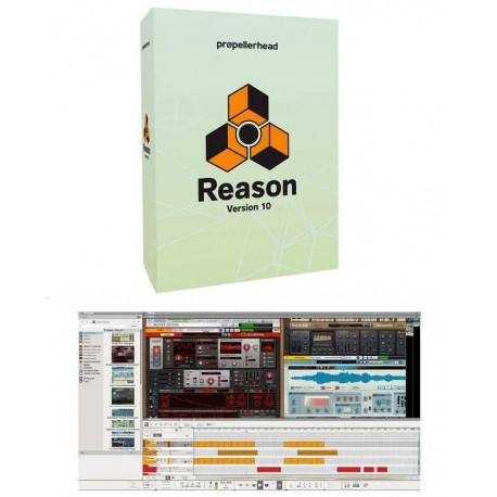 PROPELLERHEAD Reason 10 software per produzioni musicali