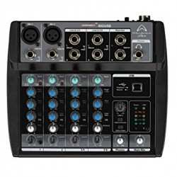 WHARFEDALE Connect 802 usb mixer usb 6 canali