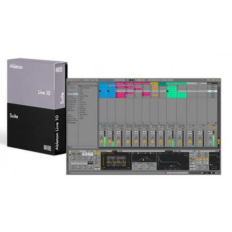 ABLETON Live 10 Suite upgrade from Lite