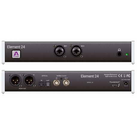 APOGEE Element 24 interfaccia audio thunderbolt per Mac 10in+12out