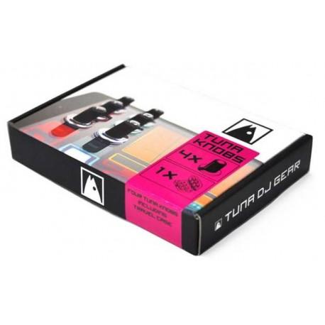 PEPPERDECKS TUNA dj gear 4 pack kit di quattro manopole per tablet e snartphone