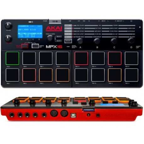 AKAI MPX16 campionatore e riproduttore di campioni 16 PAD MIDI / USB