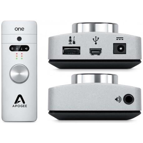 APOGEE One+ one interfaccia audio 2xin / 2xout USB per MAC/Windows/iOS