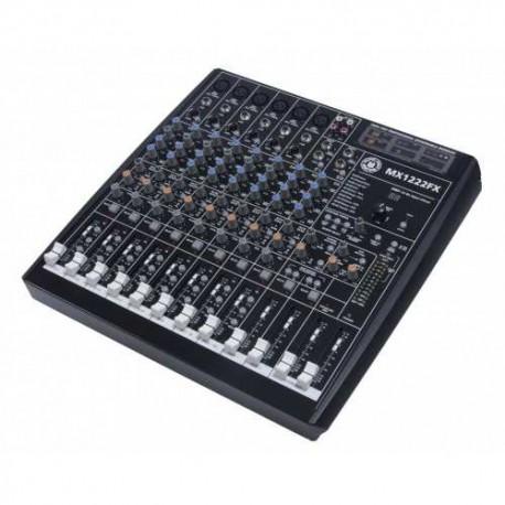 TOPP PRO TP MX1222FX mixer 12 canali con effetti, gruppi, fader