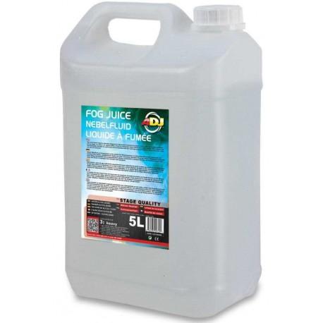 ADJ FOG JUICE - liquido per macchine del fumo / nebbia - tanica da 5L - type 3 (heavy)