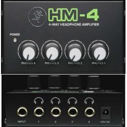 MACKIE HM-4 amplificatore per cuffie a 4 canali
