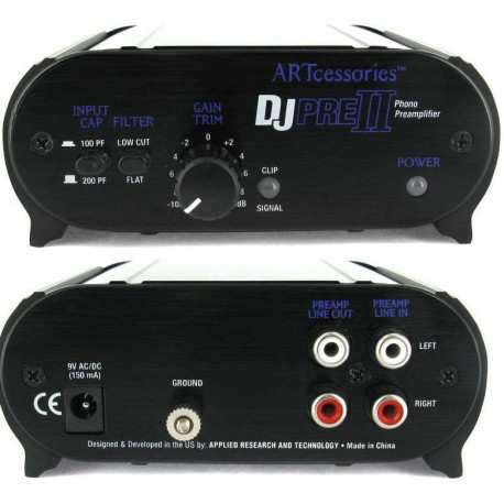 ART DJPRE II phono preamp
