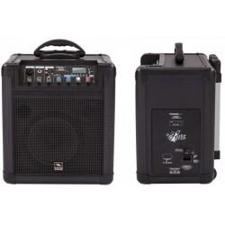 PROEL FREE8LT sistema amplificato portatile wirless con lettore multimediale 20w