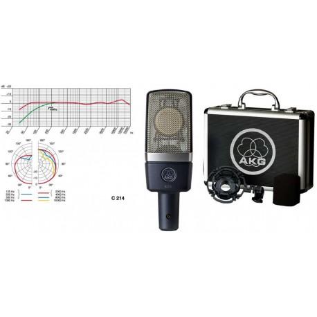 AKG C214 microfono a condensatore da studio