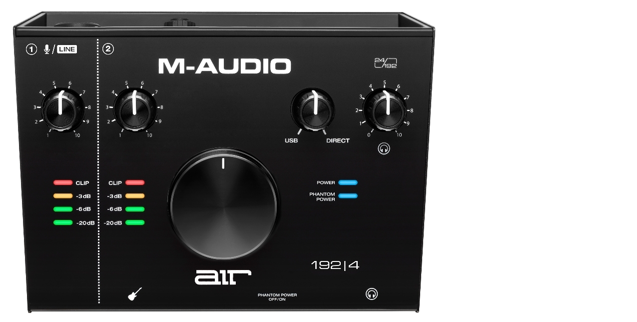 M-AUDIO AIR USB AUDIO INTERFACES