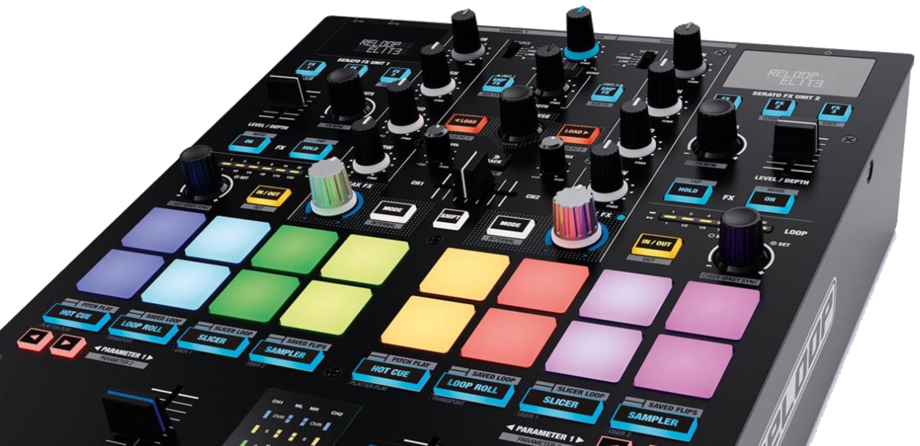 RELOOP ELITE SCRATCH MIXER FOR SERATO
